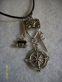 Pirate Pendant by DysfunctionalAries on Etsy, $22.00