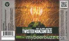 mybeerbuzz.com - Bringing Good Beers & Good People Together...: Twisted Manzanita Ales - Enlightenment Stout w/Cho...
