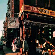 Beastie Boys Paul's Boutique Colored Vinyl Spread Across for the First Time on Double Vinyl! By the time Beastie Boys convened to record Beastie Boys, Peter Saville, Al Green, Vinyl Lp, Vinyl Records, Sportswear Men, Famous Album Covers, Vaughan, Paul's Boutique
