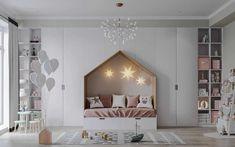 Modern Kids Bedroom, Kids Bedroom Designs, Kids Room Design, Bed Design, Unique Kids Beds, Kids Room Accessories, Custom Bunk Beds, Kids Room Lighting, Minimalist Kids