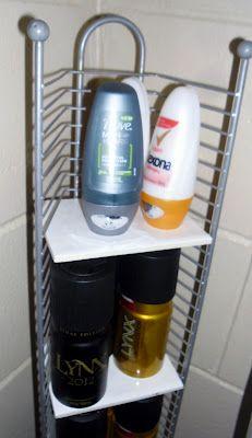 CD Jewel Case Tower Rack Repurposed  into a Corner Storage Organizer Shelf Rack