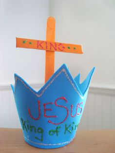 2 Samuel 7: God Made a Covenant with David-   Jesus is the King of kings craft