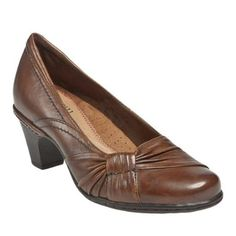 Cobb Hill Women's Scarlette Pump Cobb Hill. $64.77. rubber sole. A gorgeous pump with endless allure. Removable EVA footbed. Rubber outsole. Fabric lining. leather. Full grain leather upper with pleated vamp detail