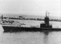 ARV S-11 Carite, Primer Submarino Venezolano en el puerto de La Guaira. 24 de Julio de 1961.