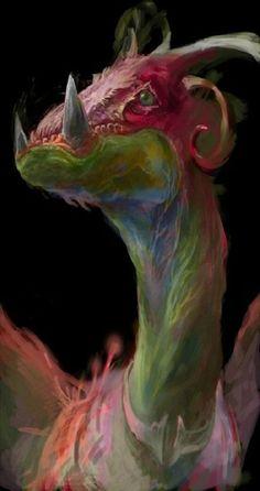 """♥ """"Rainbow Dragon"""" de Necojita"""