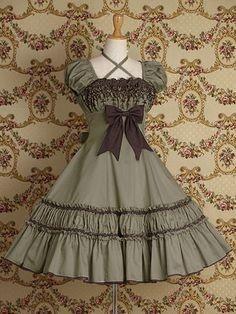 Victorian Maiden Halloween Stacked Belle New Sweet Lolita Costume Fine Emo Dress Kawaii Fashion, Lolita Fashion, Cute Fashion, Girl Fashion, Fashion Dresses, Rock Fashion, Fashion Boots, Pretty Dresses, Beautiful Dresses