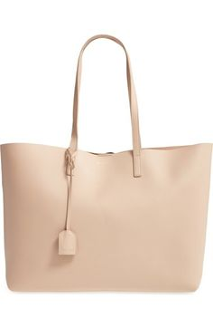 SAINT LAURENT 'Shopping' Leather Tote. #saintlaurent #bags #shoulder bags #hand bags #leather #tote #