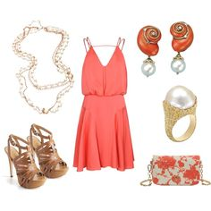 """perfect for a summer wedding"" by kap-1105 on Polyvore"
