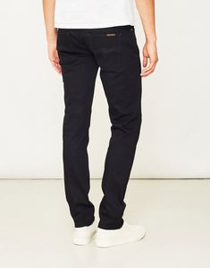 ff014272cd3 The Idle Man · Casual Clothing · Nudie Jeans Co Grim Tim Dry Cold Black  Jeans - Nudie Jeans Co - Brands at