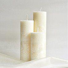 Svietidlá a sviečky - Sada sviečok Ivory Ø55 - 2020013