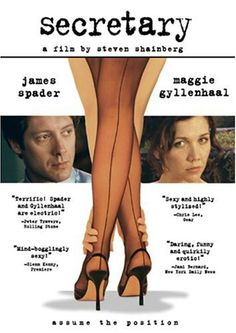 Secretary.. I love this movie. - Just watched it thanks to your pin @Natascha Suttmann and I loved it too.