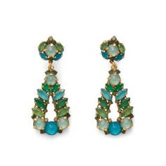 Emerald Drop Earring