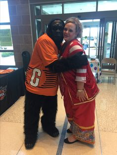 Tara with the Phoenix Suns Gorilla. Boy does she ever love her job! Phoenix Suns, Magic Tricks, Clowns, Special Events, Love Her, Christmas Sweaters, Bring It On, Daughter, Boys