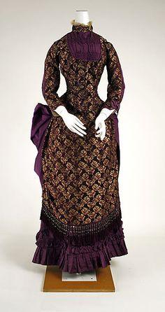 Dress Date: 1882–83 Culture: American Medium: silk Accession Number: C.I.41.38.1a, b