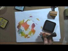 Stencils and Distress Inks - You Tube Tutorial