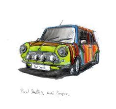 Paul Smith Mini Cooper , cute !