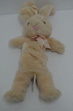Kids II Bunny Rabbit Plush Crib Pull Toy Musical Hush Little Baby Mockingbird #KidsII