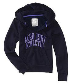 Aeropostale Womens Ny Athletic Hooded Hoodie Sweatshirt 427 L *** You can get…