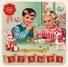 Vintage Cards, Vintage Images, Baby Boomer Era, Old Cards, Royal College Of Art, Pop Surrealism, Beatrix Potter, Vintage Children, Kitsch