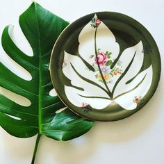 ⭐️YATO⭐️ (@beayato) • Coll. TAHITI JUNGLE Vintage Customised Porcelain wwww.yato.fr