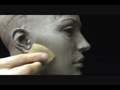 Sculpting open eyes in clay. Sculpting tutorial. - YouTube