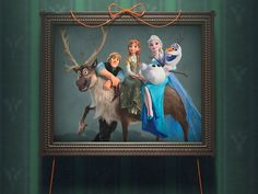 'Frozen Fever' offers an unusual family portrait, including