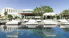 The Ritz-Carlton, Bahrain Hotel & Spa  Sunbeds Celebrate with friends or someone special in a private poolside cabana