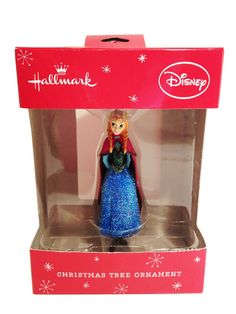 Disney princess Christmas ornaments - Hallmark Disney Frozen Princess Anna Christmas Ornament