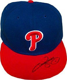 Jimmy Rollins Autographed / Signed Philadelphia Phillies Baseball Hat (JSA) « Clothing Adds for your desire