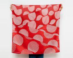 Points furoshiki (rouille) japonais eco emballage textile/écharpe, à la main au Japon