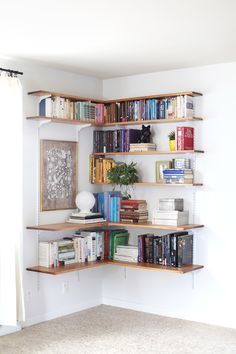 "corner shelves! <a class=""pintag searchlink"" data-query=""%23adjustable"" data-type=""hashtag"" href=""/search/?q=%23adjustable&rs=hashtag"" rel=""nofollow"" title=""#adjustable search Pinterest"">#adjustable</a>!"