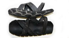 Sandals-Masai sandals-Recycled tyre sandals.