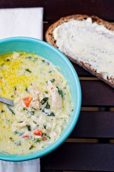 Creamy Chicken and Brie Soup