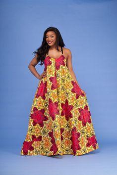 Yassa African Print Dress