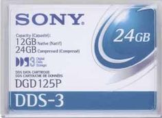 #Sony DDS-3 #tape cartridges is the most cost effective solution for backing up small to mid size applications
