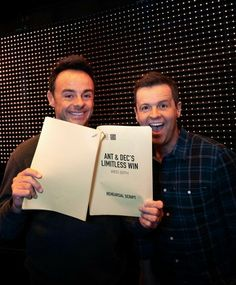 Declan Donnelly, Ant & Dec, And So It Begins, Made In Uk, Tv Presenters, Ants, Comedians, Photo And Video, Instagram