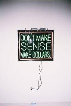 Don`t make sense