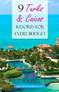 9 Turks & Caicos Resorts for Every Budget Budgetfreundliche Urlaubsorte in den Turks- und Caicosinseln. Dream Vacation Spots, Vacation Places, Vacation Trips, Dream Vacations, Places To Travel, Places To Visit, Beach Vacations, Romantic Vacations, Romantic Travel