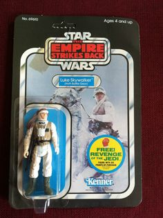 STAR WARS ESB LUKE SKYWALKER IN HOTH BATTLE GEAR- 1982