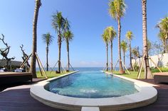 Pandawa beach is one of the tourist attractions in Bali which has a beautiful soft white sand and clear blue water with the atmosphere . Bali Accommodation, Fork In The Road, Tourism Website, Denpasar, Beach Villa, Kuta, Paths, Places To Visit, Cliff