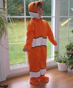 DIY clown fish costume?  Use the pattern for the fin.