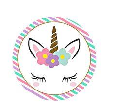 Para Cupcakes 🍥 Birthday Banner Template, Unicorn Birthday Invitations, Unicorn Birthday Parties, Unicorn Party, Unicorn Cupcakes Toppers, Cupcake Toppers Free, Unicorn Printables, Party Printables, Unicorn Centerpiece