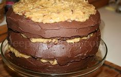 Deep South Dish: Classic German Chocolate Cake ... with a Slight Twist