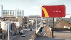 McDonald's is adapting its Golden Arches logo into directional signage for its restaurants, in a campaign out of Canadian creative agency Cossette. Creative Advertising, Advertising Agency, Cossette, Directional Signage, Downtown Toronto, Best Ads, Mcdonalds, Cannes, Grand Prix