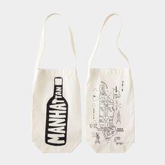 Maptote ワイン バッグ,マンハッタン:(Rachel Rheingold and Michael Berick,2009) MoMA STOREの通販 | モダンでアートなファッション・アクセサリー、バッグを通信販売で