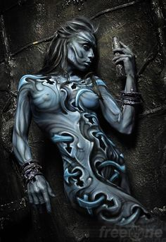 Magnificent full body paint.