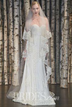 Naeem Khan Wedding Dresses Spring 2015 Bridal Runway Shows Brides.com | Wedding Dresses Style | Brides.com