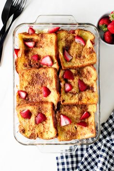 Strawberry Baked French Toast   Today We Bake