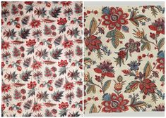 Smithsonian Cooper Hewitt National Design Museum. Antique Indienne Textile Prints   Paint + Pattern
