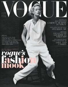 Carolyn Murphy Dons Celine for Vogue Koreas November 2012 Cover